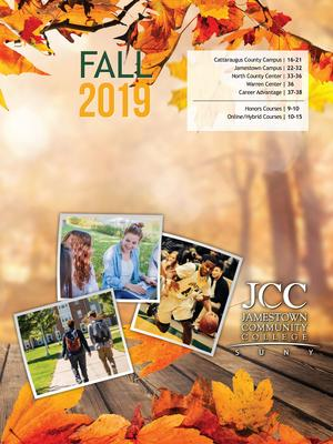 Fall 2019 catalog cover