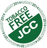 JCC tobacco free logo